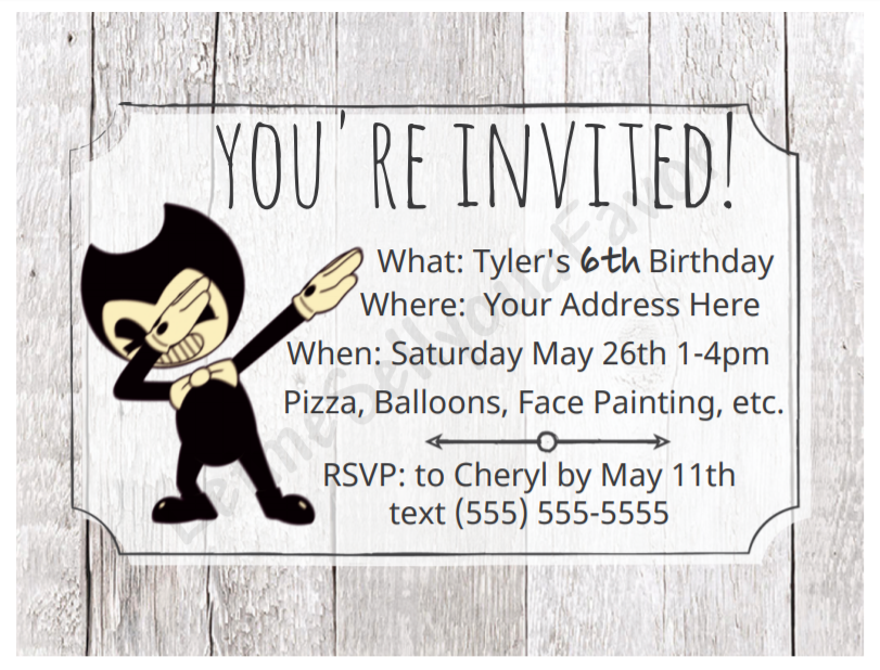 Bendy and the Ink Machine Invite.png